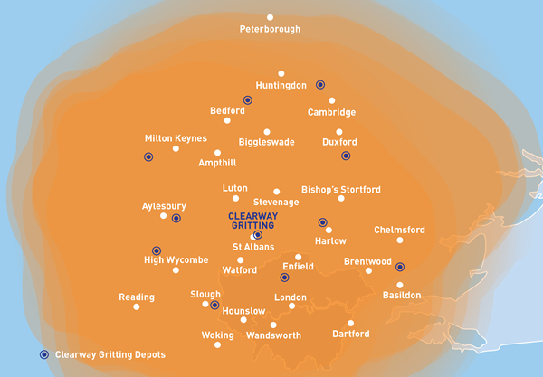 Gritting service coverage