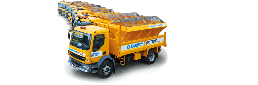 our gritting vehicles