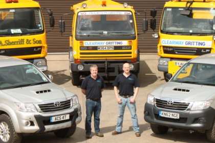 Peter Boniface Gritting Services' Operations Manager.