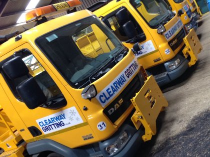 Road Gritting Lorries