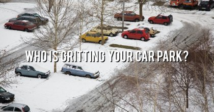 Have you organised winter gritting maintenance?