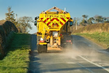 Winter gritting services