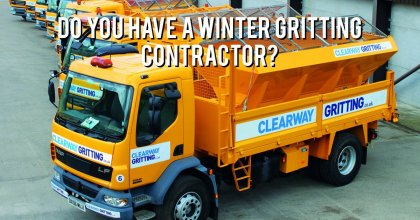 Do you have a winter gritting contractor?