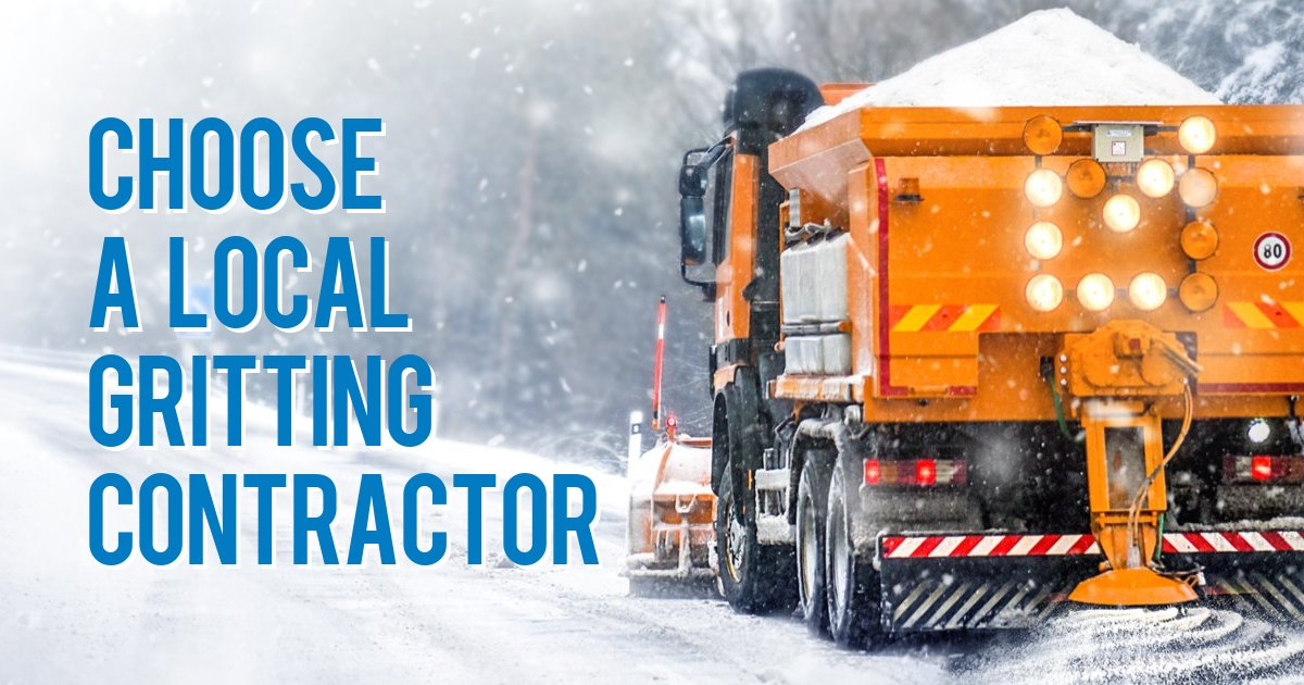 Choose a local gritting contractor